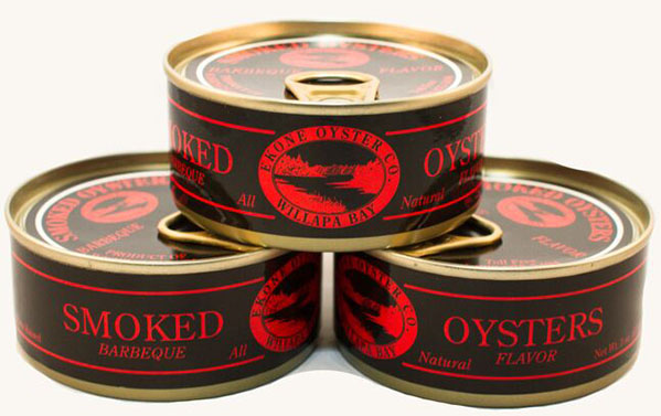 Nutrition Info: Smoked BBQ Oysters by Ekone Seafoods Willapa Bay