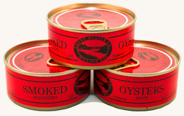 Nutrition Info: Smoked Habanero Hot Oysters by Ekone Seafoods Willapa Bay