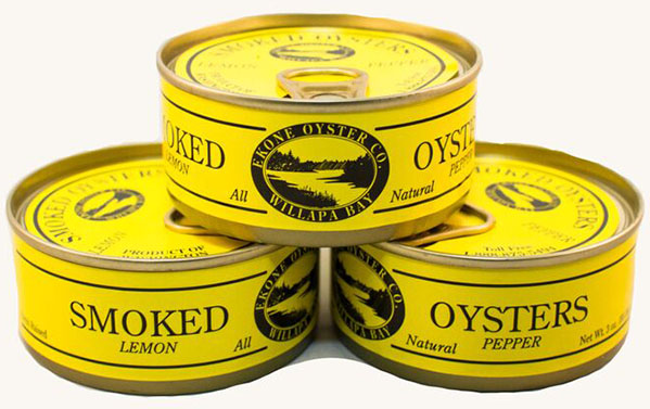 Nutrition Info: Smoked Lemon Pepper Oysters by Ekone Seafoods Willapa Bay